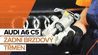Jak vyměnit zadní brzdový třmen na AUDI A6 C5 [NÁVOD]
