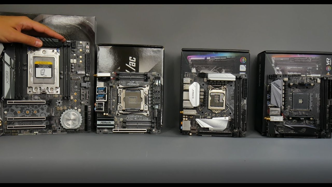 All the best mini-ITX motherboards for Ryzen, Threadripper, Coffee Lake and  Skylake-X