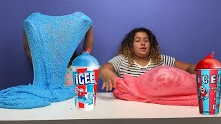 HOW TO MAKE ICEE SLIME!! SUPER EASY RECIPE - DIY 2 GALLONS OF ICEE SLIME
