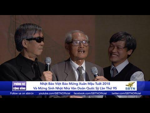 PHÓNG SỰ CỘNG ĐỒNG: Việt Báo mừng xuân & mừng sinh nhật lần thứ 95 của nhà văn Doãn Quốc Sỹ