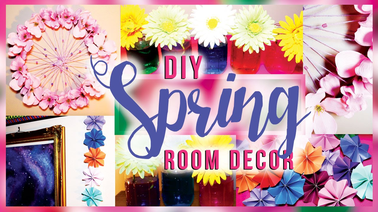 Diy Room Decor 10 Diy Room Decorating Ideas For Teenagers: DIY Spring Room Decorations / Decor For Your Room