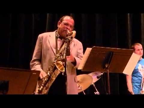 Joyous Reunion, Ernie Watts with the UW River Falls Jazz Ensemble