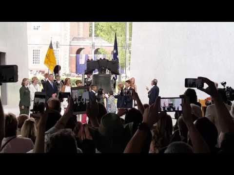 Fourth of July Liberty Bell Ringing Ceremony - Philadelphia Center City