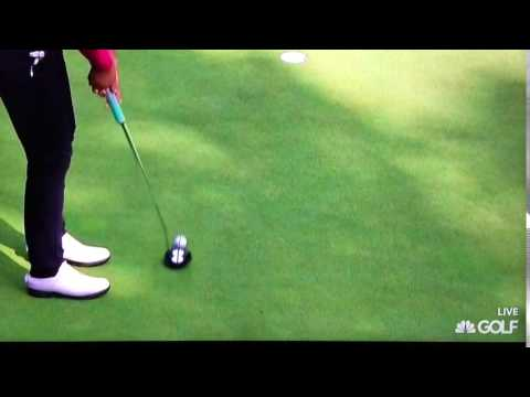 Lydia Ko - Putting Stroke in Slow Motion (Elevated View) 2016