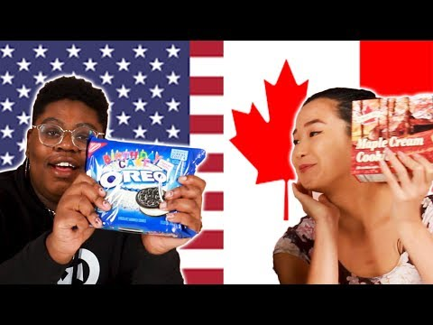 American & Canadian Swap Snacks