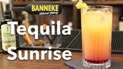 Tequila Sunrise - Tequila Cocktail selber mixen - Schüttelschule by Banneke