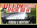 Apache 160 4v,  De 0 A 60 En 4.7 Segundos  ¿ Verdad O Mentira?