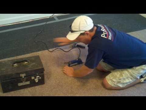 How To Make A Carpet Seam