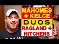 Mahomes + Kelce and Ragland + Hitchens - Dynamic Duos | Kansas City Chiefs 2018