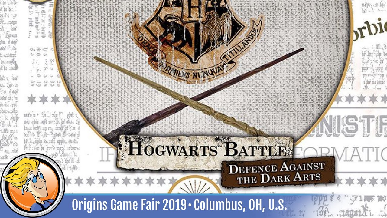 Harry Potter Hogwarts Battle Defense Against The Dark Arts Overview At Origins Game Fair 2019 Youtube