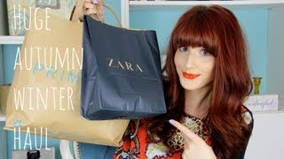 Huge Autumn/Winter Haul | Primark, Zara & more! | Wonderful You