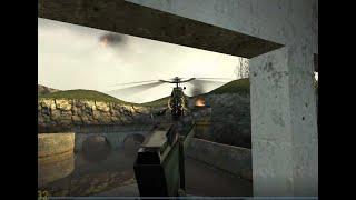 Ураганим в HALF LIFE 2 Часть [3] Первая встреча с черным вертолетом