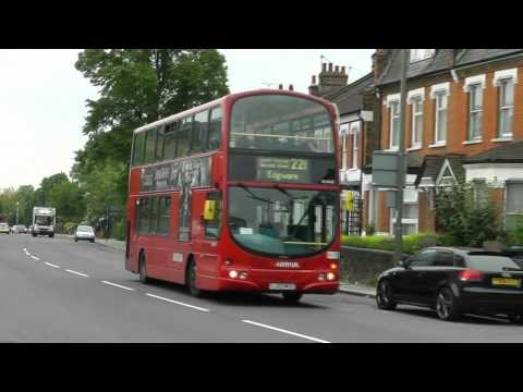 Buses in North Finchley on 2nd June 2012
