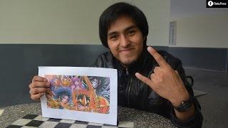 Conoce a Jeffersson Tadeo, participante de La Voz Perú que cantó tema de Saint Seiya