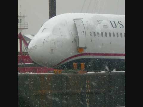 Airbus A320 Hudson River Crash Aftermath