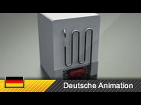 Kühlschrank Motor Aufbau : Funktionsweise eines kühlschranks kompressorkühlschrank youtube