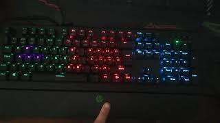 Hp pavillion 800 gaming keyboard sound of click and led lighitng change