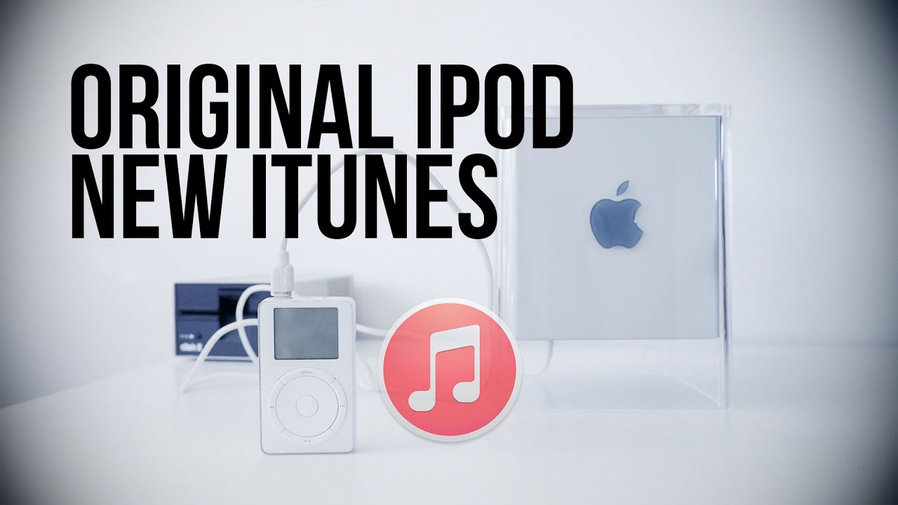 Legacy Support! After 14 years, the first iPod still syncs