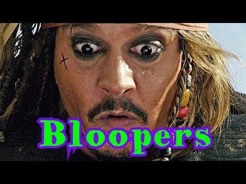 Johnny Depp - Bloopers