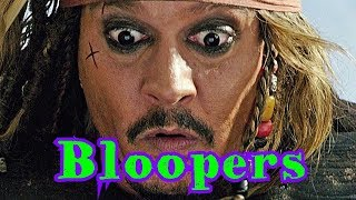 Johnny Depp - Bloopers