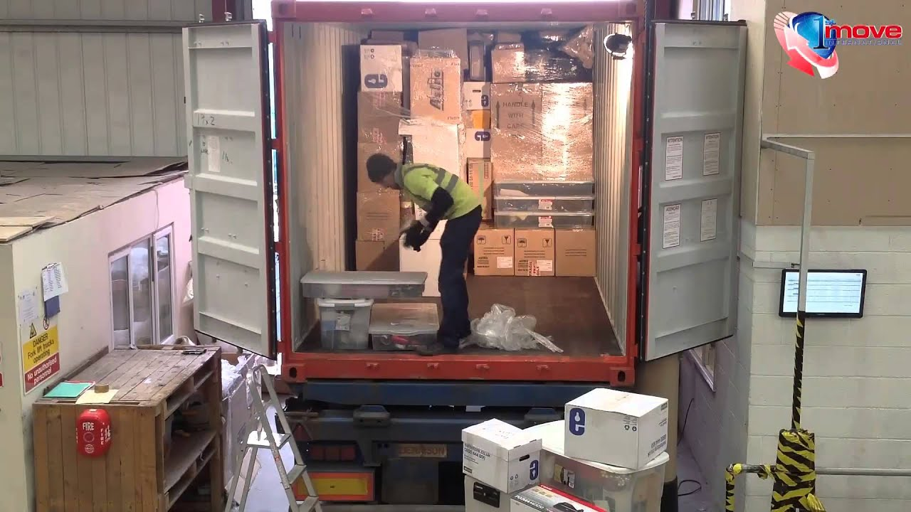 Full Container Loading 1st Move International Youtube
