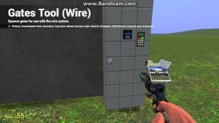 создание двери с кодовым замком в Garry's mod на wire