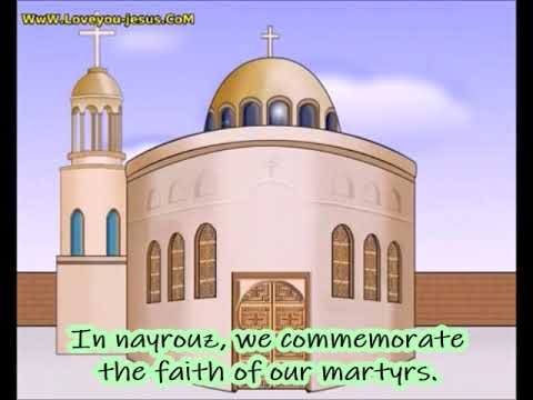 Brighten up our church brighten up. Coptic feast of Nayrouz hymn