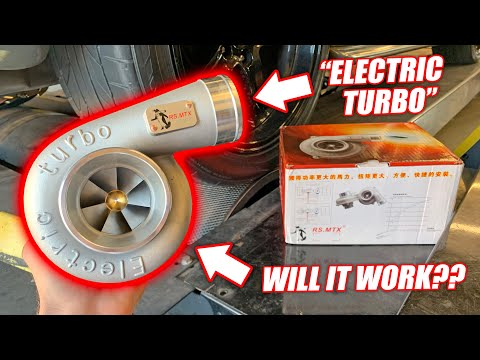 Dyno Testing a $400 ELECTRIC TURBO! Funniest Car Part EVER!