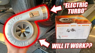 Download Dyno Testing a $400 ELECTRIC TURBO! Funniest Car Part EVER! Mp3 and Videos