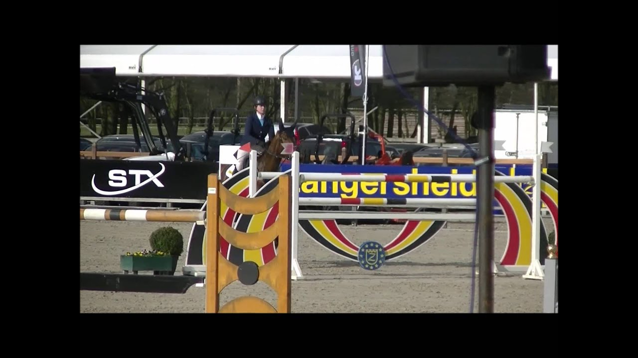 Art d' Usance (Kigali x Mermus R) CSI3* Zangersheide Grand Prix 1.50m  03042016
