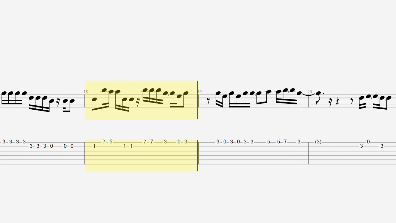 Guitar Tab Notes Chords Whats Up Youtube
