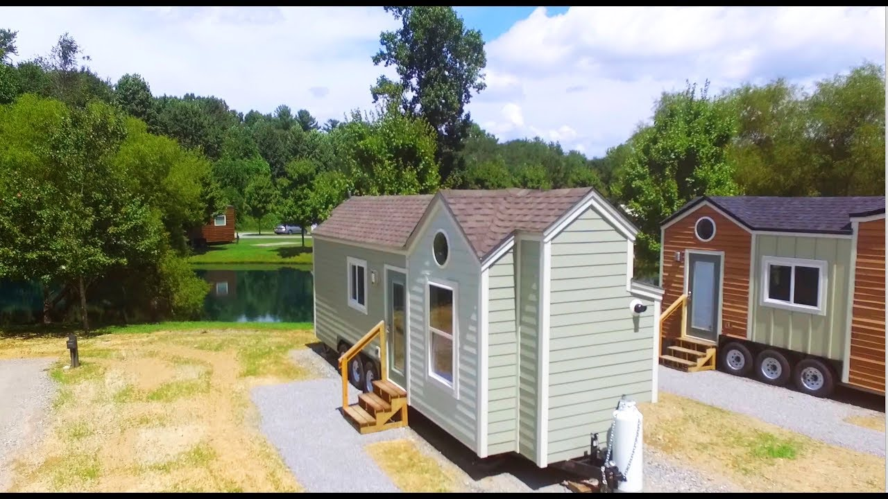 Tiny House Living In The North Carolina Mountains Youtube