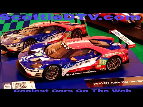 Carrera Digital 132 Ford GT #68 Review ScottieDTV International Raceway