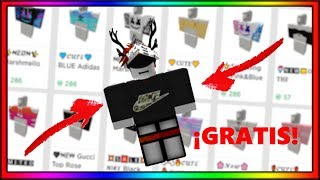 How to have FREE SHIRTS on ROBLOX without robux or Builders Club👕 Ender777456