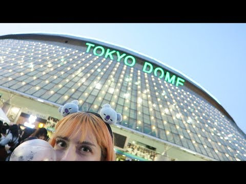 BTS Love Yourself World Tour Tokyo Dome VLOGGGGG!