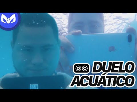 NOTE 8 vs iPhone 8 Plus BAJO EL AGUA