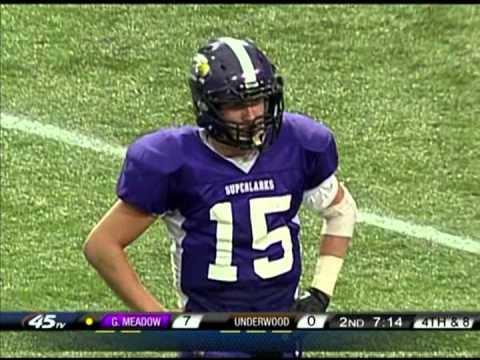 Prep Football: Underwood vs Grand Meadow, Prep Bowl (11/29/2013)