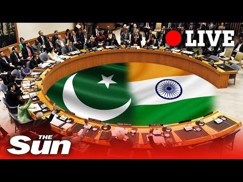 Kashmir: UN Security Council holds meeting on India-Pakistan dispute