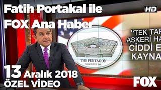 Ankara'da yüksek hızlı tren faciası... 13 Aralık 2018 Fatih Portakal ile FOX Ana Haber