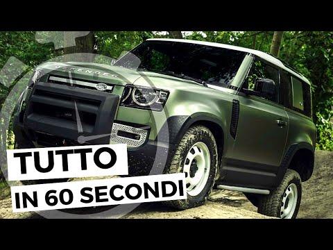 NUOVA LAND ROVER DEFENDER | Tutto in 60 secondi