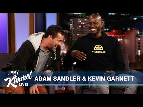 Adam Sandler & Kevin Garnett on Uncut Gems