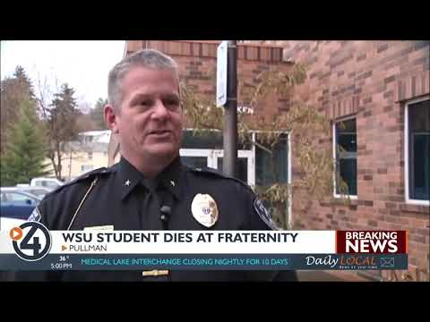WSU Student Dies At A Fraternity House