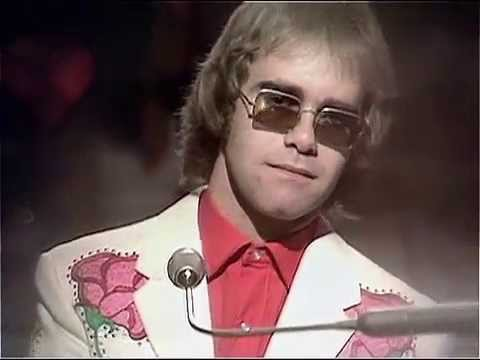 Elton John  Your Song  on Top of the Pops 1971