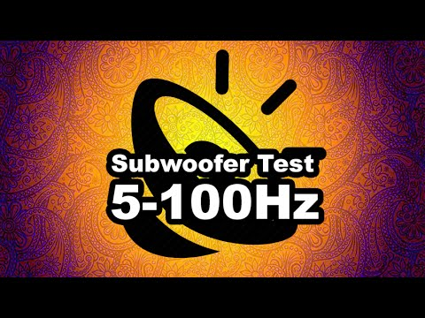 Bass Test Subwoofer - 5-100Hz - (1080p) Highest Quality
