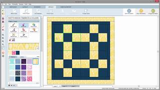 Color Quilts with the Spraycan Tool in EQ8