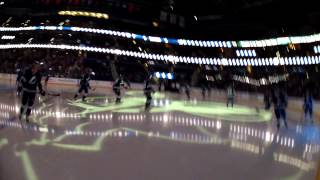 Go Pro- Kid skates on the ice with the Tampa Bay Lightning!