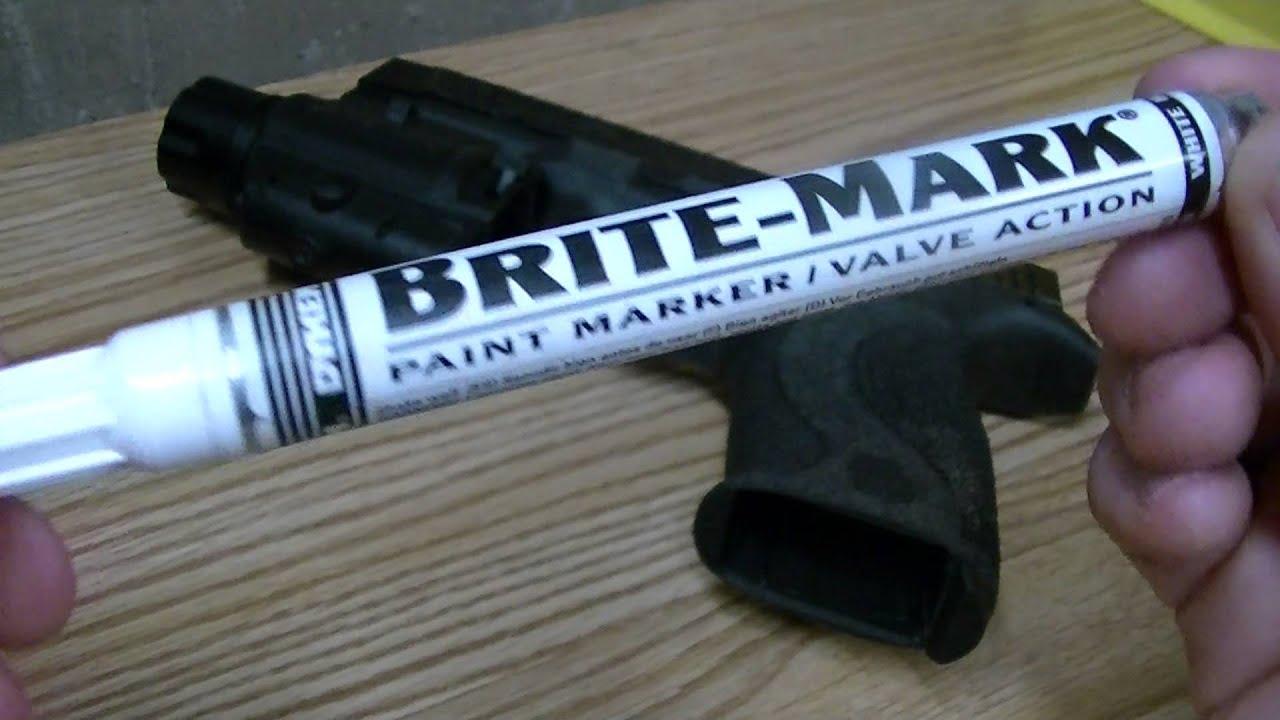 Best Handgun Sight Paint