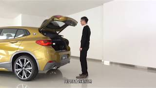BMW X2 - Hands Free Tailgate Access