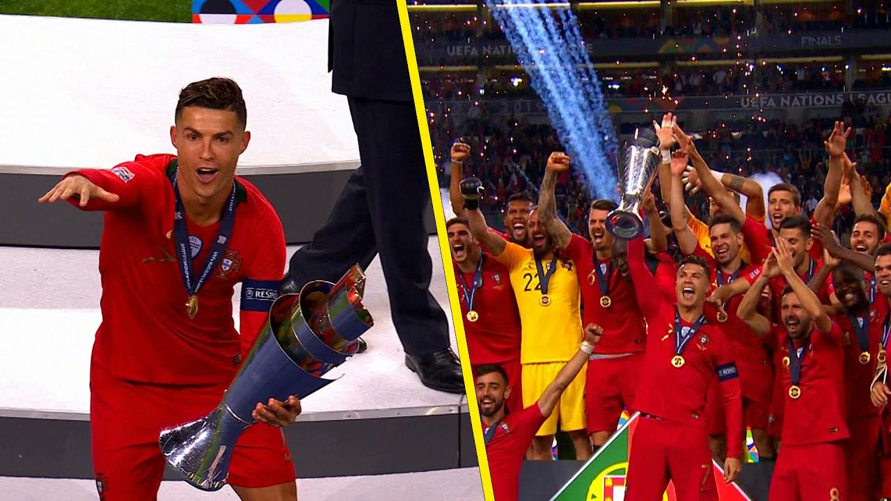 The Day When Cristiano Ronaldo Won Another Trophy For Portugal