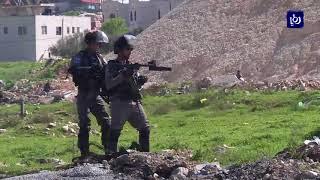 إصابة عدد من الفلسطينيين خلال مواجهات مع الاحتلال - (16-3-2018)